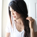 HAIR TUTORIAL|FISHTAIL WRAP