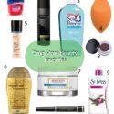 10 FAVORITE DRUGSTORE BEAUTY FINDS