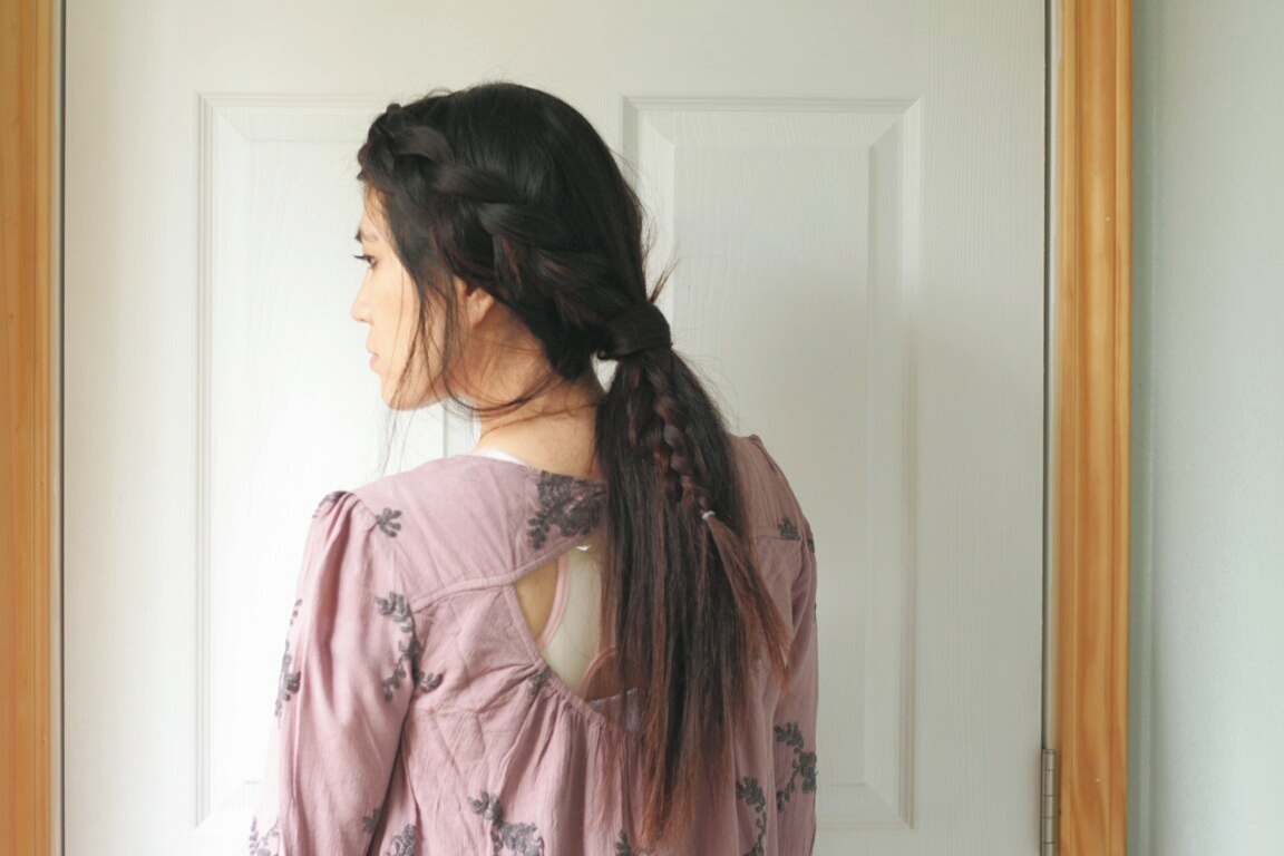 DRAGON TAIL BRAID TUTORIAL
